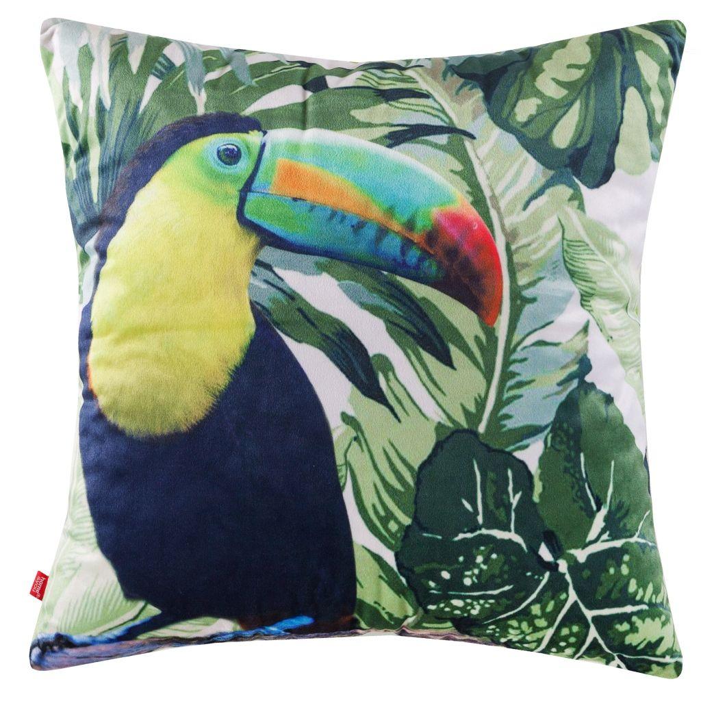 poduszki home and you poduszka w egzotyczne wzory z tukanami