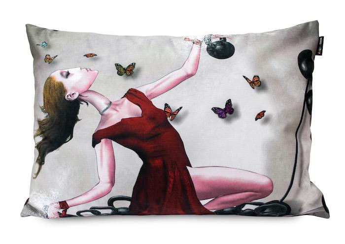 Różne rodzaje poduszek dekoracyjnych inspiracje obraz polskiego malarza