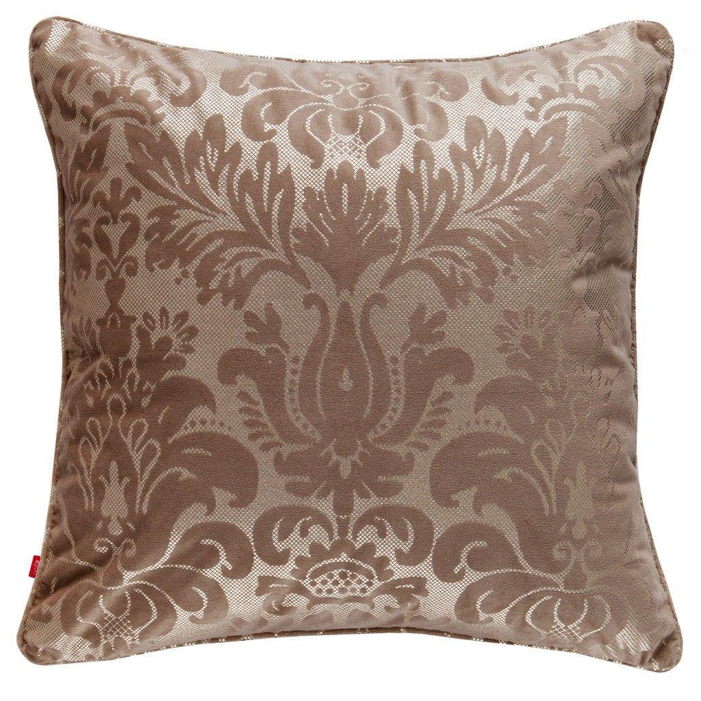 złota poduszka z wzorami glamour