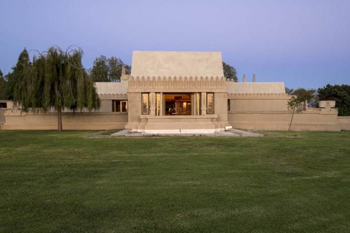 Frank Lloyd Wright Hollyhock House Los Angele, California Stany Zjednoczone