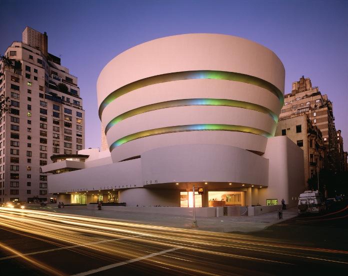 Frank Lloyd Wright liska UNESCO muzeum Solomona R. Guggenheima w Nowym Jorku
