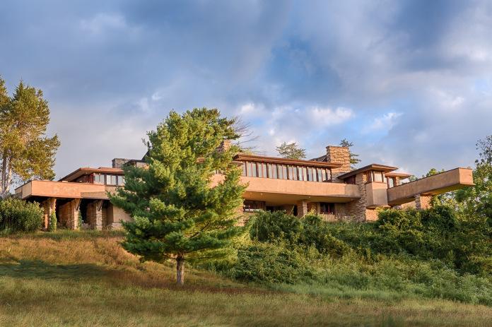 Taliesin cegła modernizm architektura