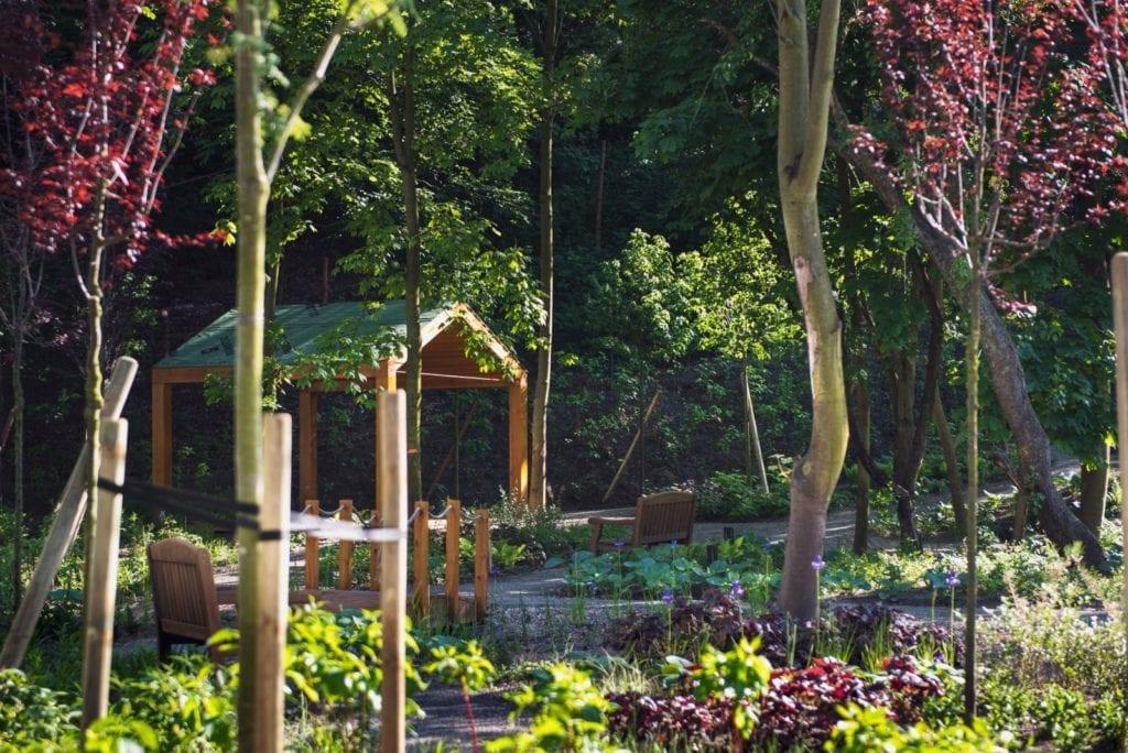 ogród hygge osiedle w Gdańsku