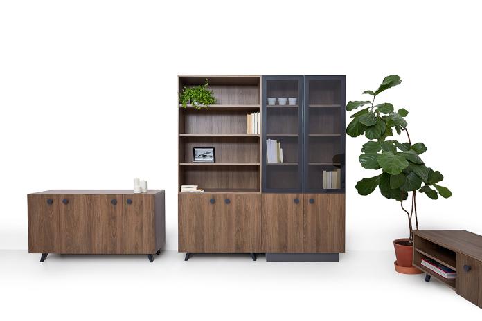 Furniture Concept Sylwia Kowalczyk-Gajda kolekcja DOTS meble drewniane vintage retro projektanci polscy