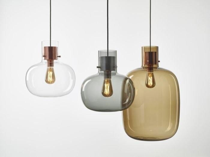 Puro Elecrtric Brokis lampy z przydymionego szkła