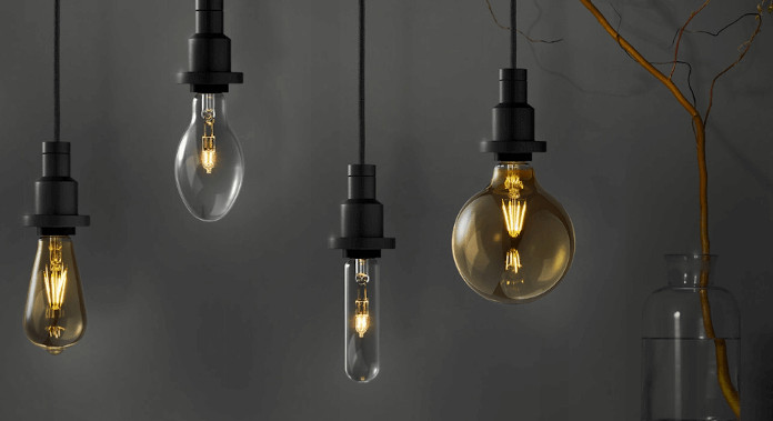 Ekologiczne mieszkanie żarówki LED inspirajcje