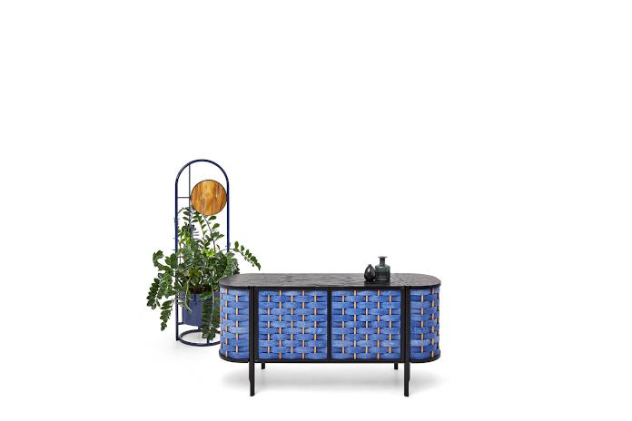 Sikorski Supreme Furniture Zofia Strumiło-Sukiennik kolekcja SPLOT komoda niebieska inspiracje