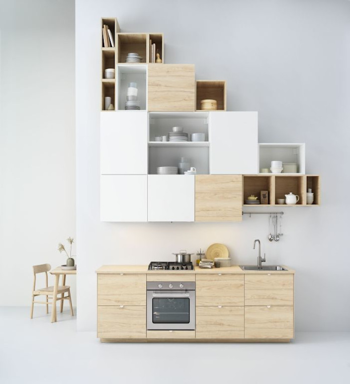 Planowanie kuchni IKEA nowy katalog szafki stół krzesło