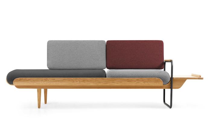 sofa drewno sklejka drewniana