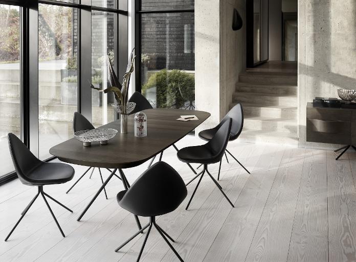 Katalog BoConcept jadalnia krzesła stół inspiracje