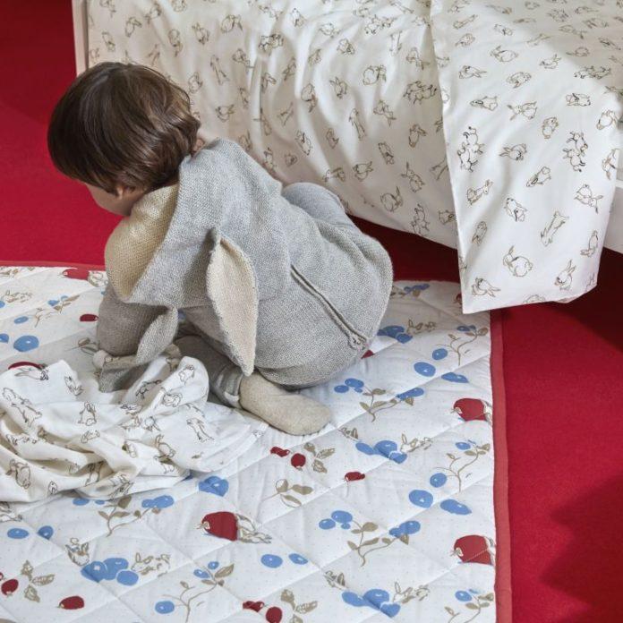 kocyk pikowany dla dziecka pościel dla dzieci ręcznik z kapturkiem ikea