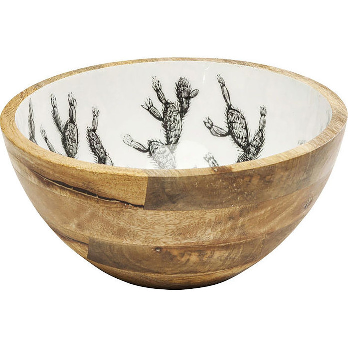 drewniana miska inspiracje jak ozdobić stół