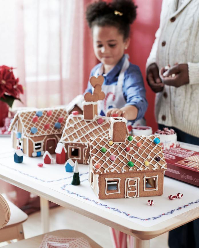 domek piernik inspiracje dla dzieci wigilia święta ikea