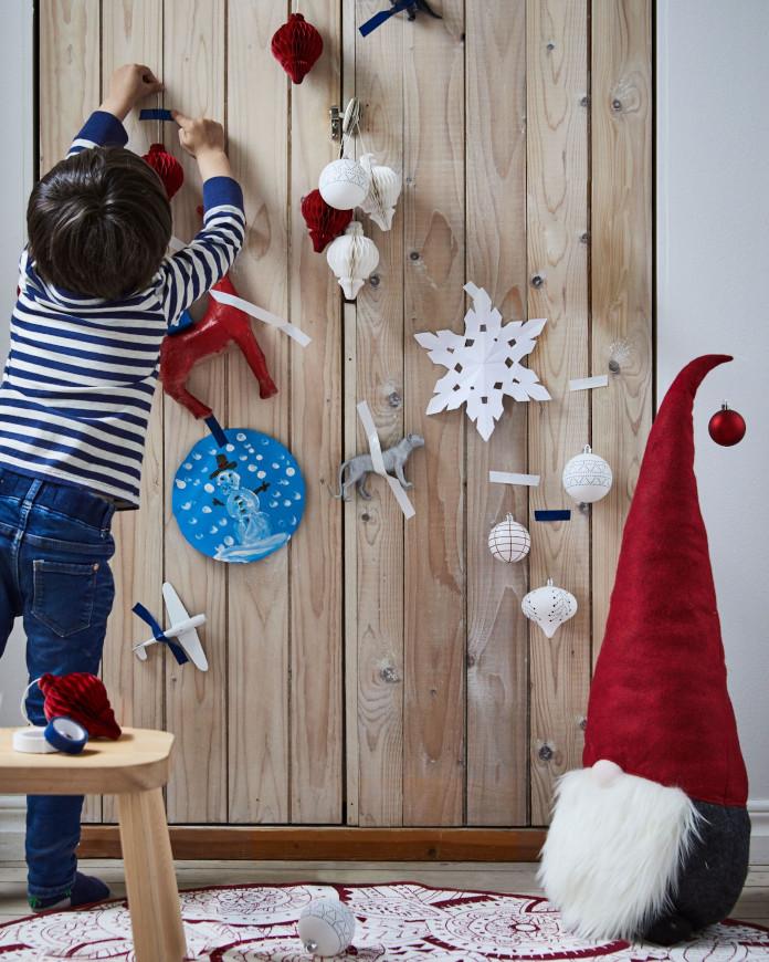 dziecięce zabawki świąteczne aranżacje inspiracje drewno dekoracje