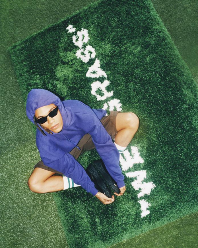 ikea x off whitee dywan zielony inspiracje moda