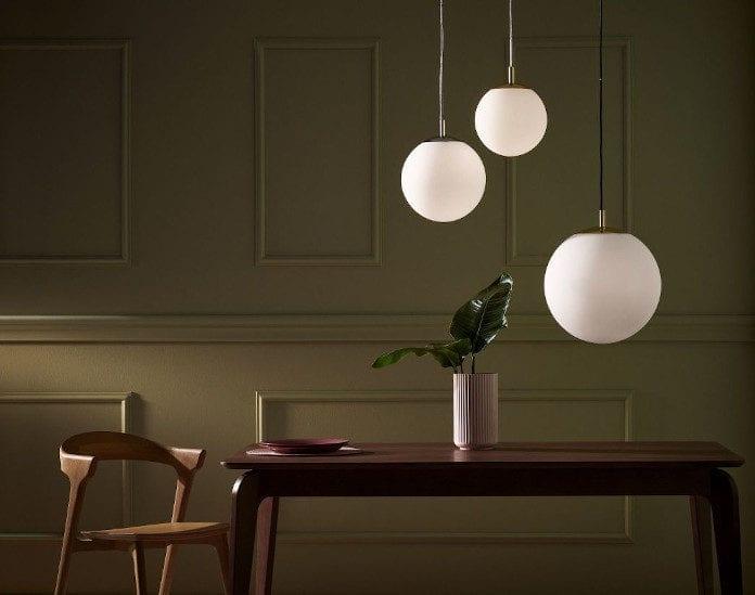 kule lampy wiszące inspiracje kaspa trendy wnętrzarskie