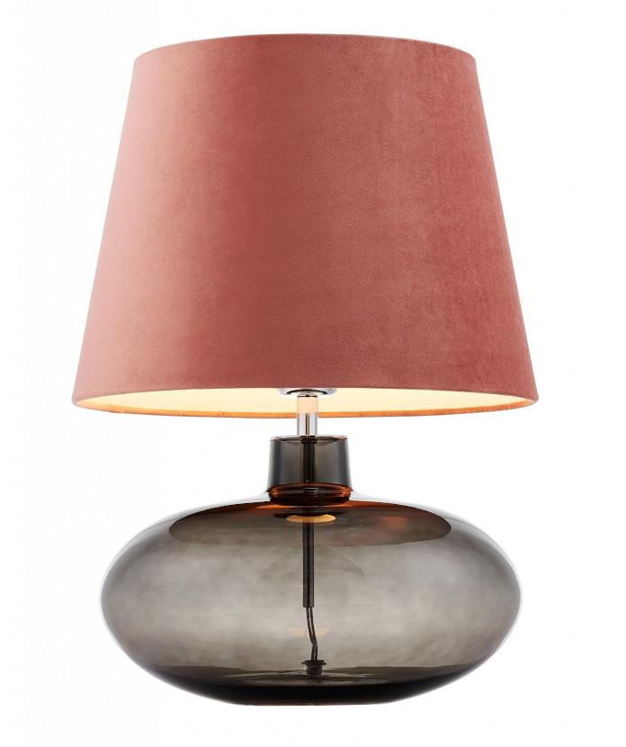 Lampa-stojąca-kaspa-w-kolorze-coral-pink-pantone-2020