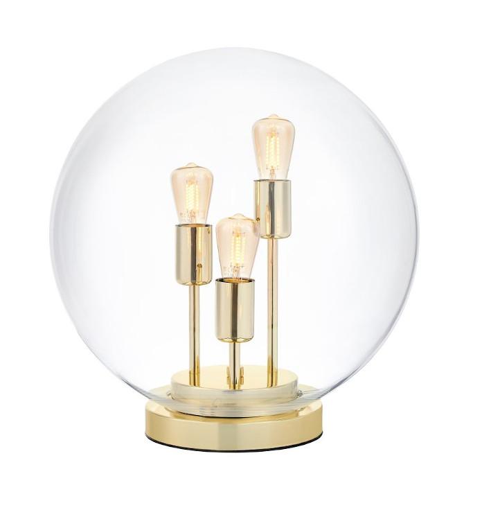 lampa stojąca złoto isnpiracje kaspa