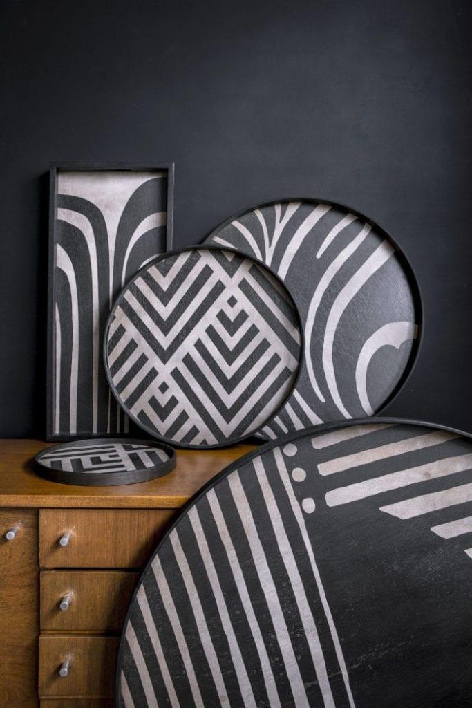 tace notre monde inspiracje wzór etniczny zebra