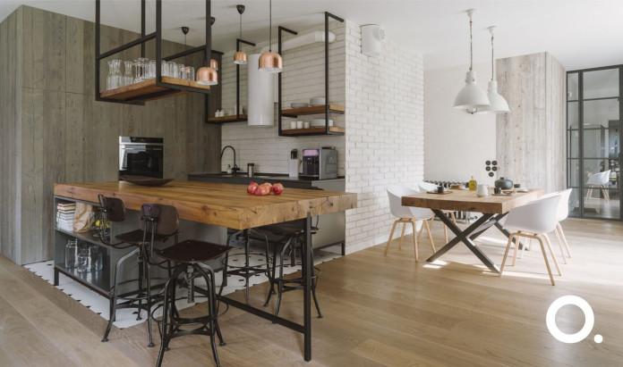 białe-wnętrza-z-drewnem-realizacja-pracowni-studioo.-inspiracje-natura-kuchnia-z-wyspą-jadalnia-stalowe-elementy