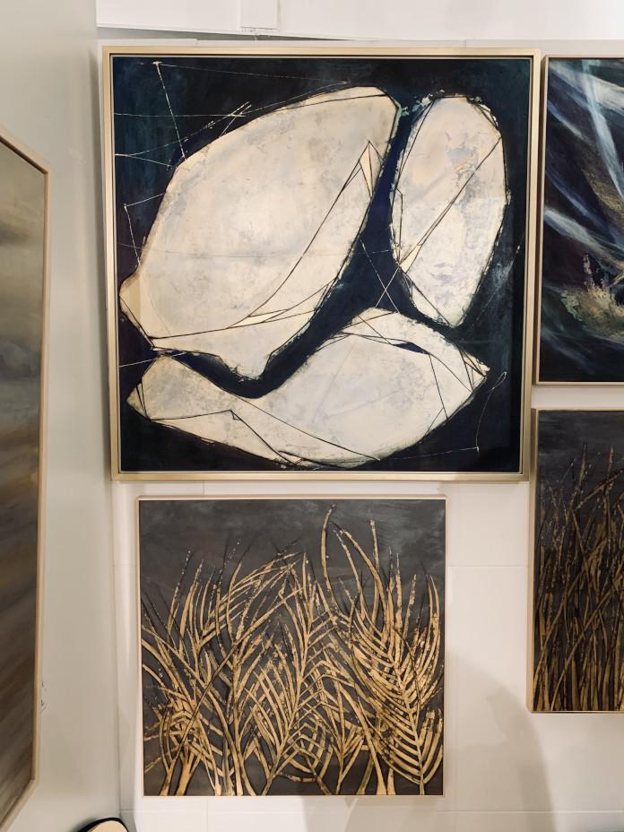 Targi-Sztuki-Dostępnej-2019-obrazy-na-wystawie-millena-demille-sztuka-abstrakcja-złoto