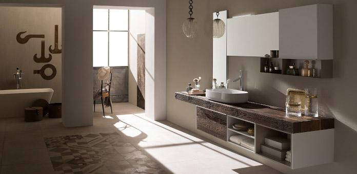bogate wnętrza łazienka rab drewno inspiracje