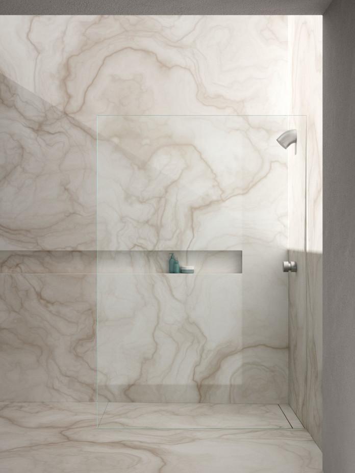 kabina prysznicowa bezprofilowa inspiracje rare marmur