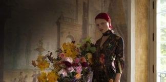 Ubrania risk made in warsaw inspiracje martwa natura kwiaty