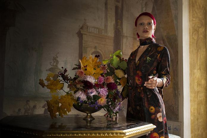 Ubrania risk made in warsaw inspiracje kwiaty
