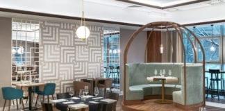 tremend hotel inspiracje krzesło stół lampa