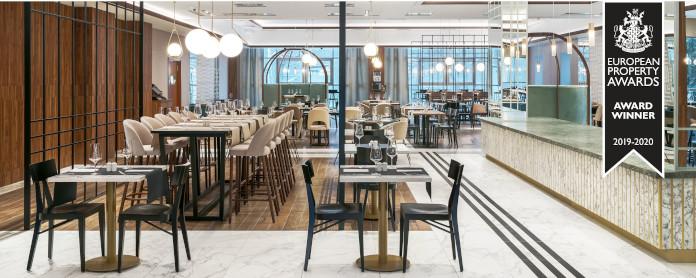 Tremend: Metropolo by Golden Tulip nagroda inspiracje lobby krzesła stoliki lampy bar recepcja
