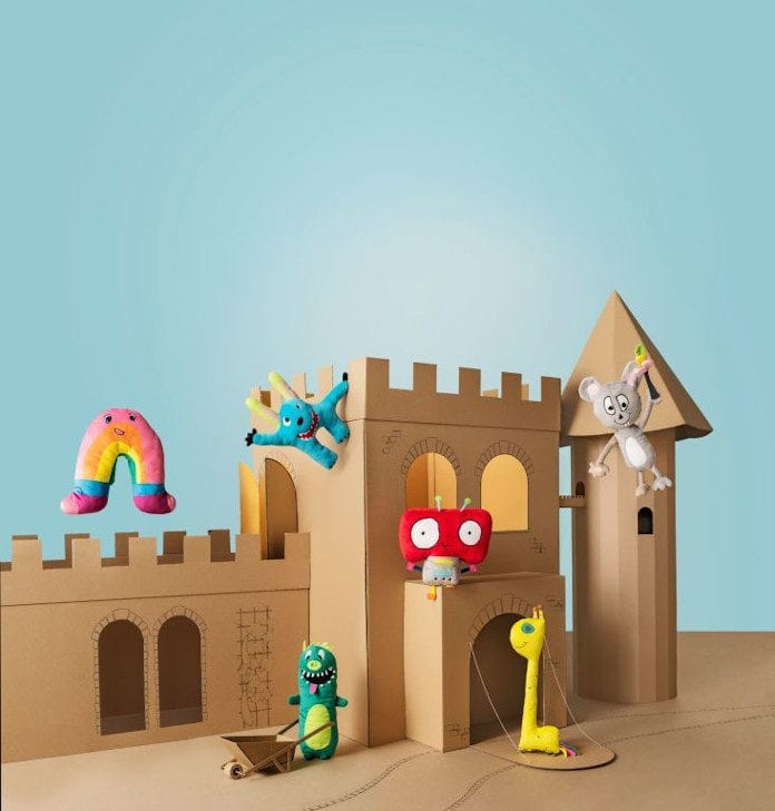 Od dzieci dla dzieci - kolekcja SAGOSKATT w IKEA