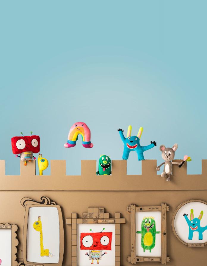 kolekcja SAGOSKATT ikea inspiracje zabawki dla dzieci