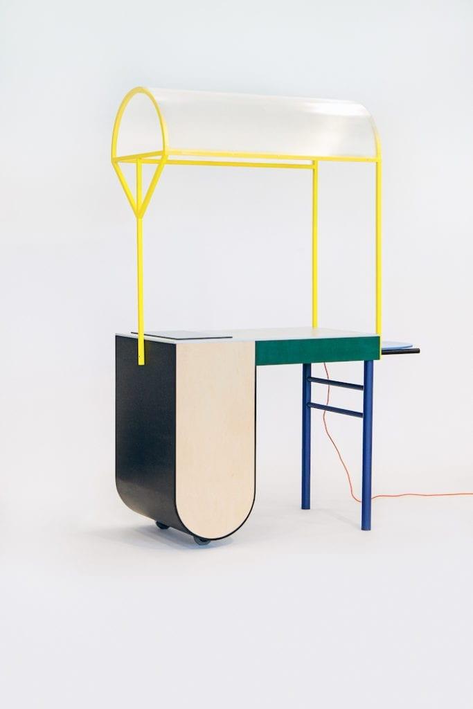 Arena Design futurystyczny mebel Ad Rooms