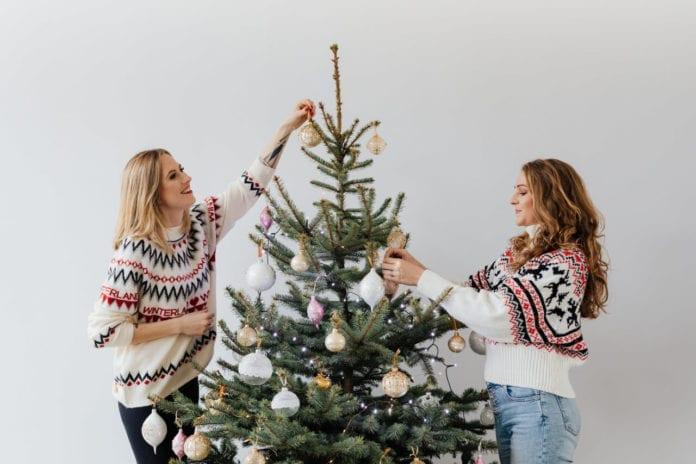 dekorowanie-choinki-inspiracje-święta-dwie-dziewczyny