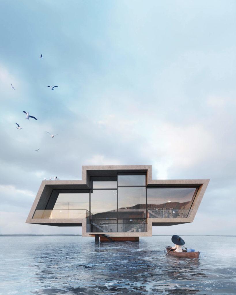 projekt-domu-w-kształcie-logo=chevrolet-inspiracje-wamhouse