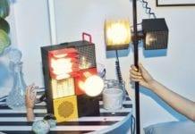 Ikea-FREKVENS-inspiracje-zestaw-dla-domówki-głośnik-lampa-światła-impreza-wow