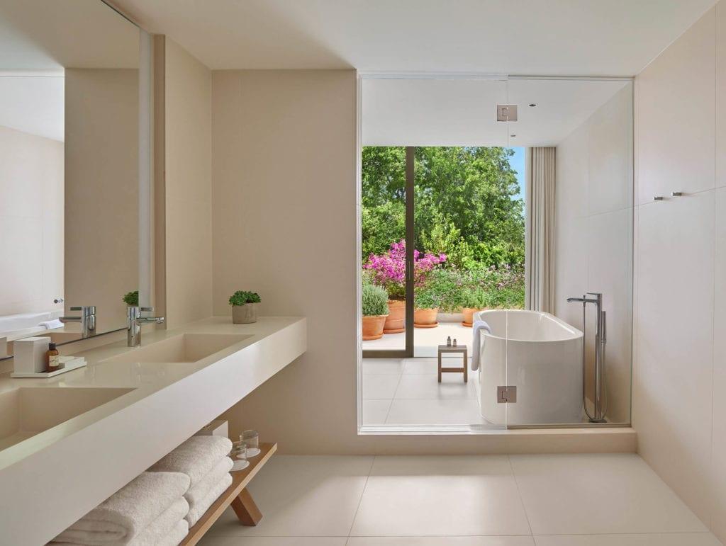 kalifornia-los-angeles-inapiracje-taras-ogród-apartament-łazienka-widok