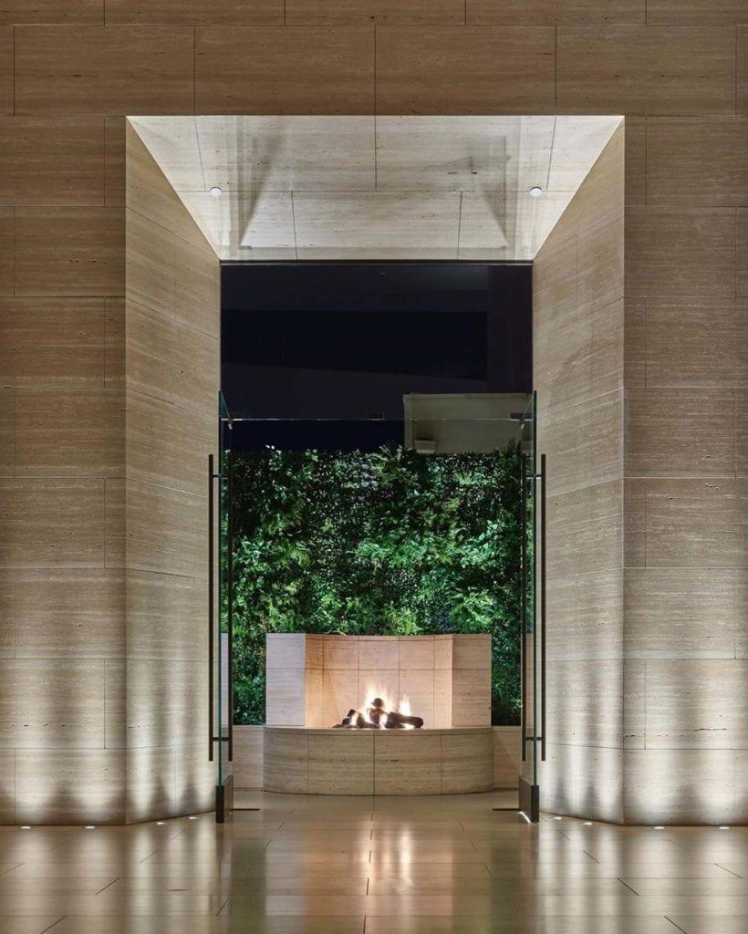 wejście-inspiracje-lobby-drewno