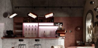 wnętrze-restauracji-w-budapeszcie-trendy-2020-terrakota-inspiracje-miedź