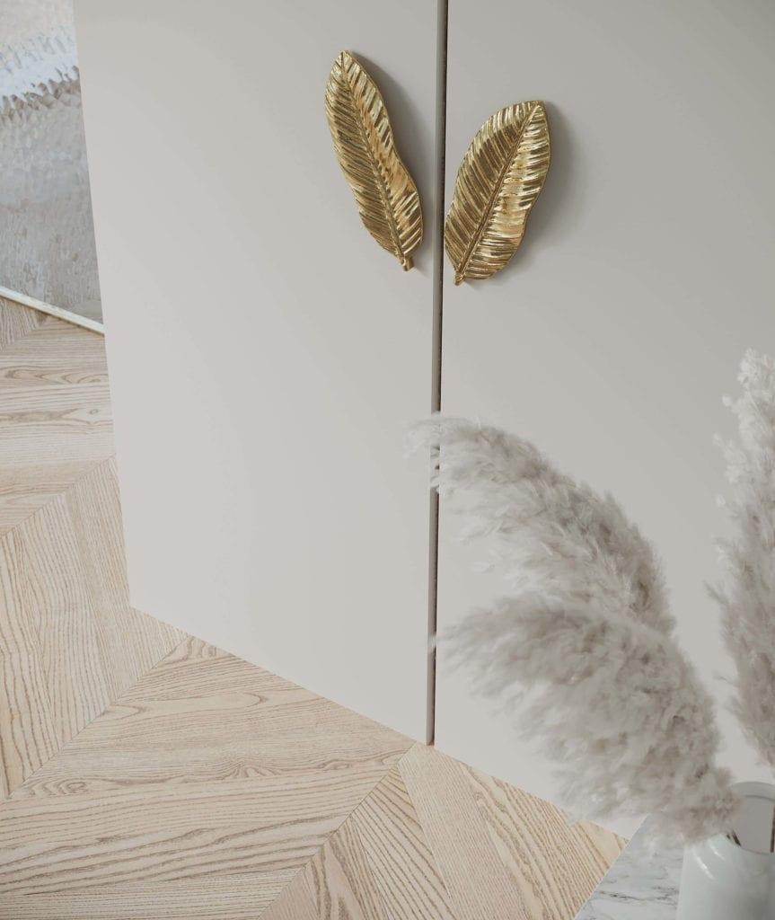 uchwyty-meblowe-w-kształcie-bananowca-inspiracje-wiosna-dekoracje-dodatki
