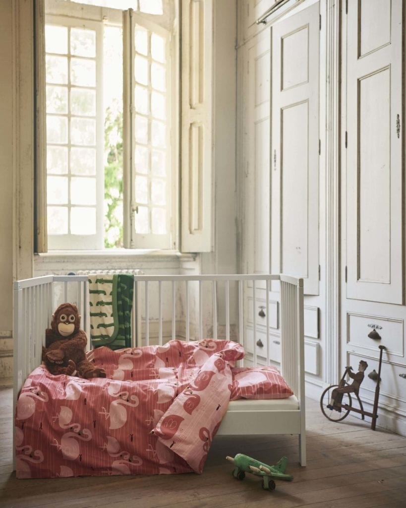 pościel-dziecięca-inapiracje-białe-wnętrze-domowe-inspiracje