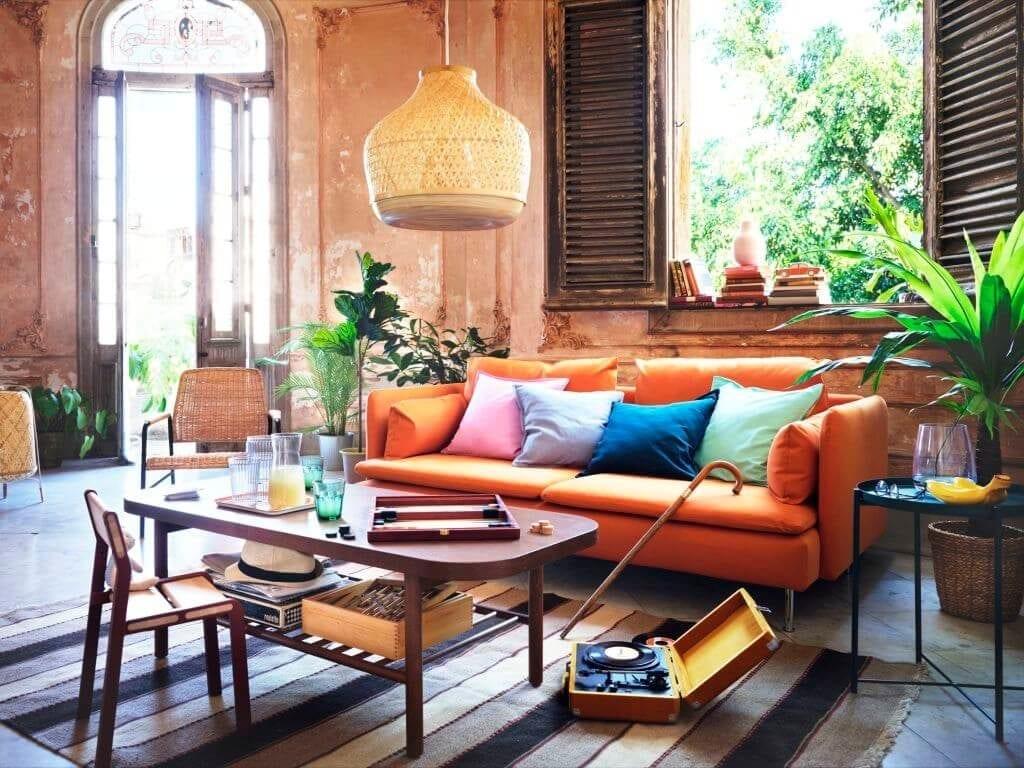 salon-ikea-domowe-inspiracje-poduszki-kanapa