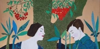 obraz-dzieło-inspiracje-Targi-Sztuki-Dostęonej-Beata-Walczak-Wczorajszy-smutek
