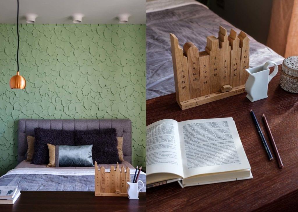 sypialnia-łóżko-biurko-inspiracje