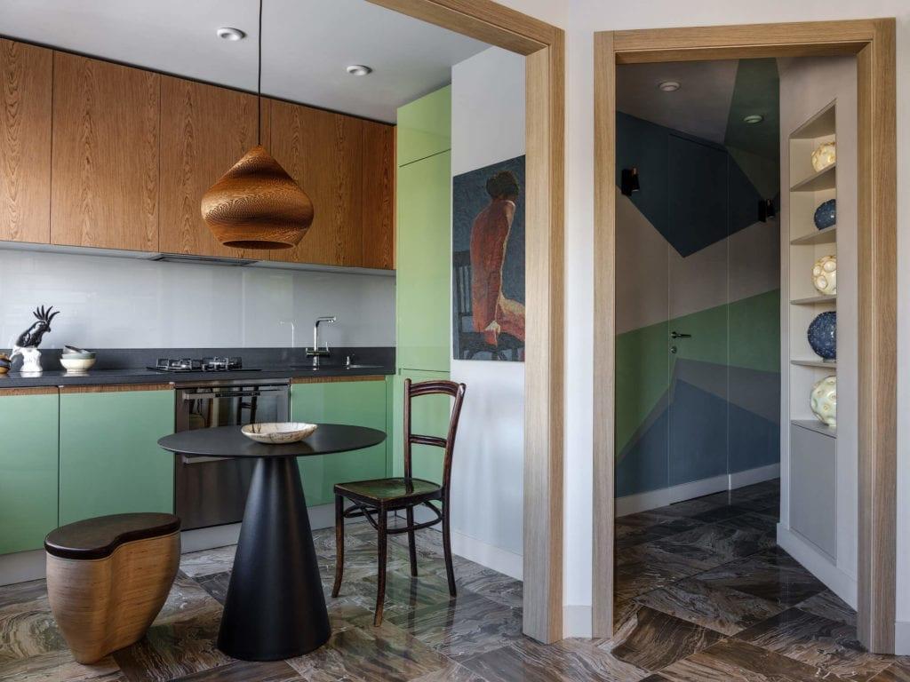 kuchnia-inspiracje-nietypowe-wnętrze-jadalnia-stół-krzesło
