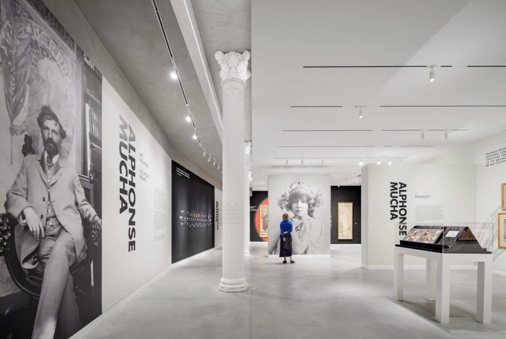 Łączenie-stylów-we-wnętrzu-muzeum-sla-wystawowa