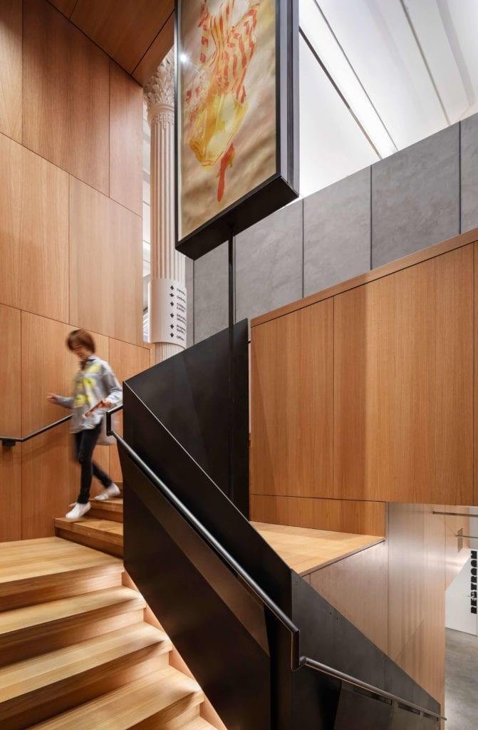 sdrewno-schody-inspiracje-wnętrze-loft
