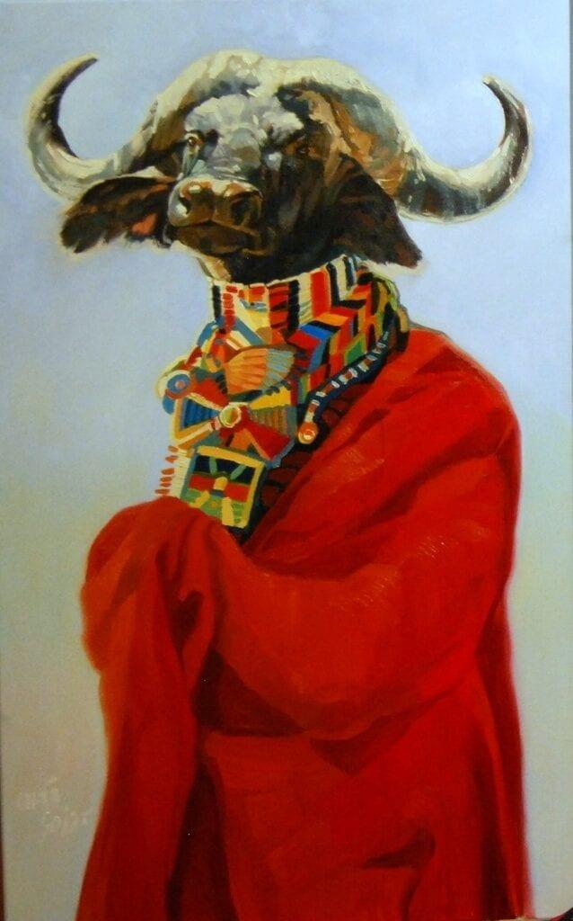 Targi-Sztuki-Dostępnej-2020-Daria-Solar-Samburu-olej-na-płótnie-light