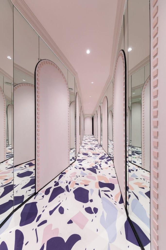 korytarz-przedpokój-inspiracje-wnętrze-lustra